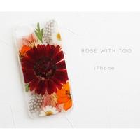 【リング不可】iPhone / 押し花ケース20191023_1
