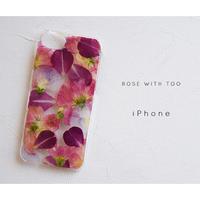 iPhone / 押し花ケース 20200325_1