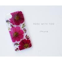 iPhone / 押し花ケース20191030_1