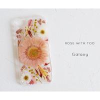 再販【リング不可】Galaxy /   押し花スマホケース 20200129_8
