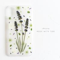 iPhone / 押し花ケース 20190605_3
