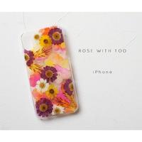 iPhone / 押し花ケース20190911_3