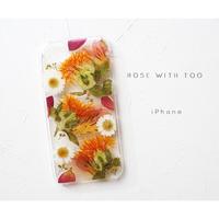 iPhone / 押し花ケース20190828_3