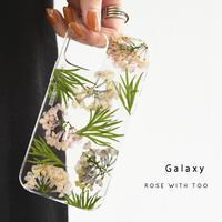 Galaxy /   押し花スマホケース  210512_4