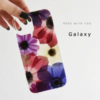 Galaxy /   押し花スマホケース  210203_8