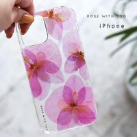 iPhone / 押し花ケース 210609_1
