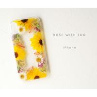 iPhone / 押し花ケース20190918_5