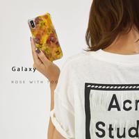 Galaxy /   押し花スマホケース  200902_4