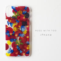 iPhone / 押し花ケース 190306_2
