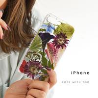 iPhone / 押し花ケース 201111_3