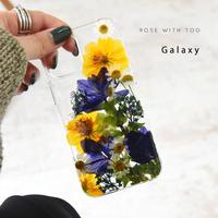 Galaxy /   押し花スマホケース  210120_2