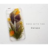 Galaxy / 押し花ケース20190724_7ムラサキカラー