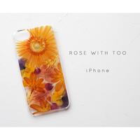iPhone / 押し花ケース20190807_3