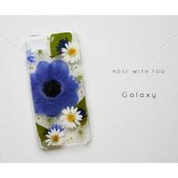 Galaxy /   押し花スマホケース 20200205_6