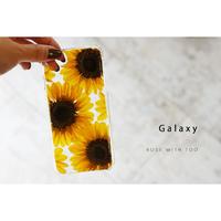 【リング不可】Galaxy /   押し花スマホケース  200617_4