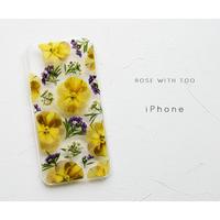 iPhone / 押し花ケース 200520_1