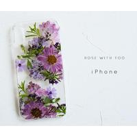 iPhone / 押し花ケース 20200429_1