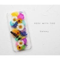Galaxy /   押し花スマホケース 20191002_5