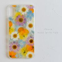 iPhone / 押し花ケース 20190529_3
