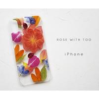 iPhone / 押し花ケース 20191218_3