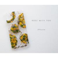 【リング不可】iPhone / 押し花ケース20190925_7