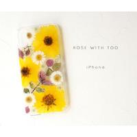 iPhone / 押し花ケース20190918_3