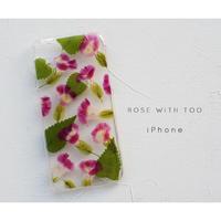 iPhone / 押し花ケース20191106_5