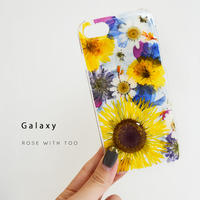 Galaxy /   押し花スマホケース  200916_8