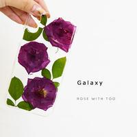 Galaxy /   押し花スマホケース  200819_8