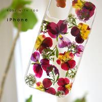 iPhone / 押し花ケース 210428_1