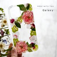 Galaxy /   押し花スマホケース  210922_4