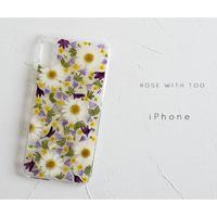 【再販商品】iPhone /  押し花ケース 190227_2