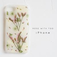 【再販】iPhone / 押し花ケース 1114_13