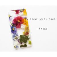 iPhone / 押し花ケース20190805_1