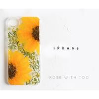 iPhone / 押し花ケース 20190618_1