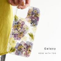 Galaxy /   押し花スマホケース  210623_2