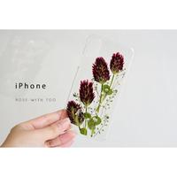 iPhone / 押し花ケース 200617_1