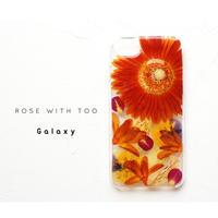 Galaxy / 押し花ケース20190807_4