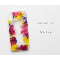 Galaxy /   押し花スマホケース  200520_6