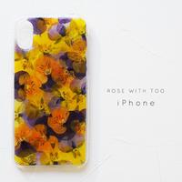 iPhoneケース 0418_2 orange viola