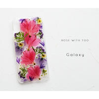 Galaxy /   押し花スマホケース  200520_8