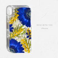 iPhone /  押し花ケース 190227_1