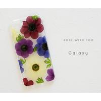 Galaxy /   押し花スマホケース 20200205_4