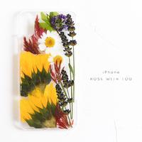 iPhone / 押し花ケース 20190605_1