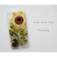【リング不可】Galaxy /   押し花スマホケース 20200129_4