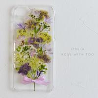 iPhone / 押し花ケース 20190529_5