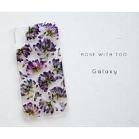Galaxy /   押し花スマホケース 20200506_2
