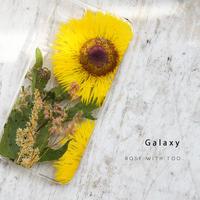 Galaxy /   押し花スマホケース  200916_6