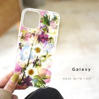 Galaxy /   押し花スマホケース  210317_6