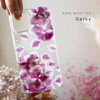 Galaxy /   押し花スマホケース  210714_2